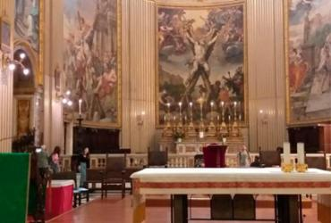 Igreja que se destaca por patrimônio artístico recebe primeira missa de Santa Dulce dos Pobres | Cleidiana Ramos | Ag. A TARDE
