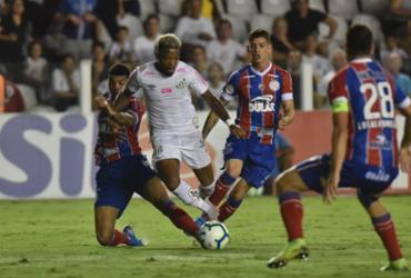Com interferência do VAR, Bahia cai para o Santos na Vila Belmiro | Ivan Storti | Santos FC