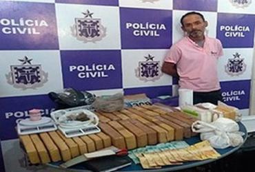 Quase 40 quilos de drogas são apreendidos em Itabuna |