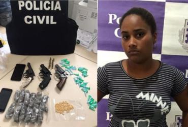 Polícia desarticula ponto de tráfico no interior da Bahia | Divulgação/SSP