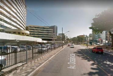Trânsito é interditado temporariamente em Ondina para obra na Av. Oceânica   Reprodução   Google Street View