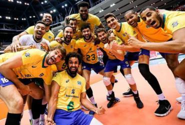 Brasil coroa título com campanha invicta na Copa do Mundo após derrotar a Itália | Divulgação | FIVB