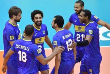 Seleção masculina mantém ritmo na Copa do Mundo de vôlei e arrasa Austrália   Divulgação   FIVB