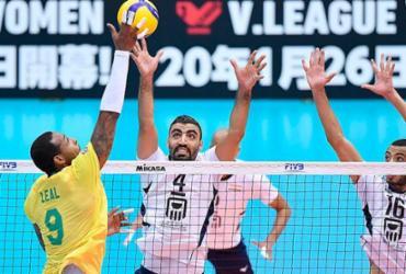 Brasil perde set, mas vence Egito e lidera Copa do Mundo de vôlei | Divulgação | FIVB
