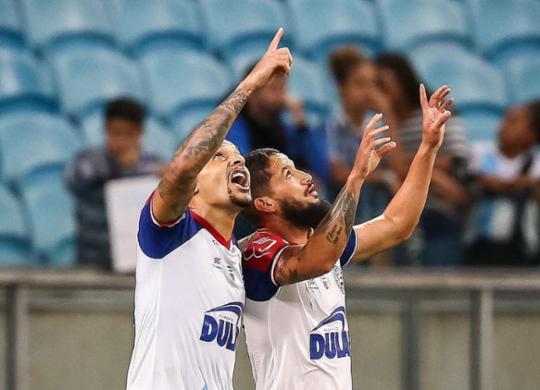 Com pênalti no fim, Bahia finda tabu contra o Grêmio e volta a colar no G-6. Veja o gol! | Reprodução | Twitter | @Brasileirao