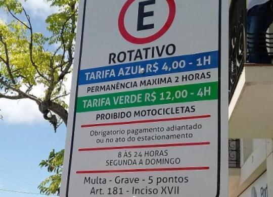 MP recomenda suspensão de cobrança de Zona Azul em Porto Seguro | Reprodução