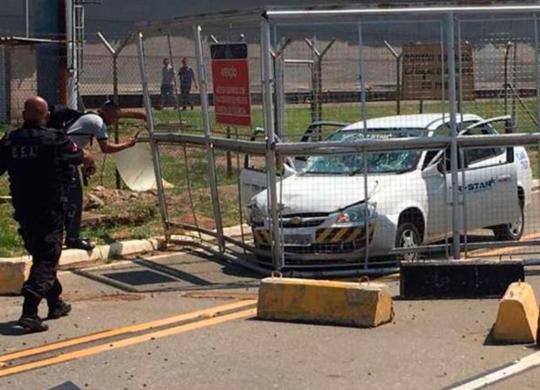 Duas pessoas são baleadas em assalto no aeroporto de Campinas | Reprodução