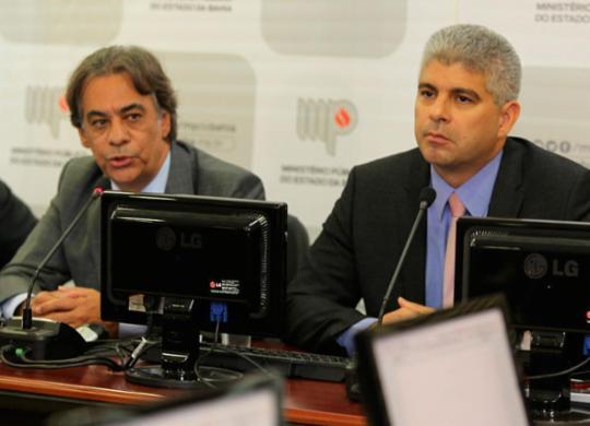 Secretário da SSP diz ter provas da participação de associados da Aspra em atos de vandalismo   Divulgação   MPBA