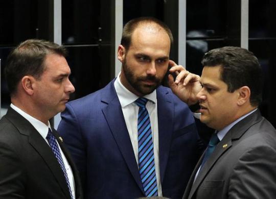 Eduardo Bolsonaro desiste de indicação para embaixada nos Estados Unidos | Fabio Rodrigues Pozzebom | Agência Brasil
