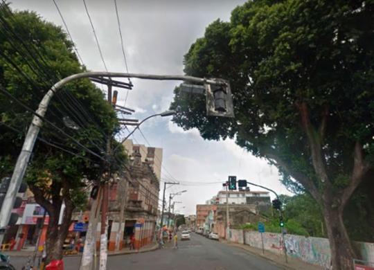 PM é baleado após reagir a tentativa de assalto no Engenho Velho de Brotas   Reprodução   Google Maps