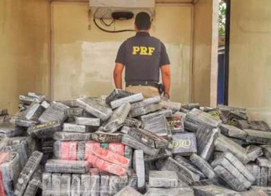 Cerca de uma tonelada de cocaína é apreendida em Feira de Santana | Divulgação | PRF