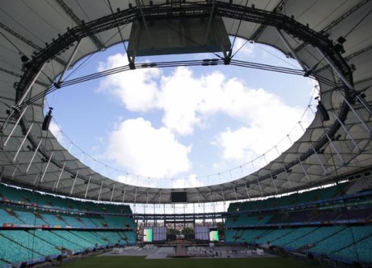 Primeira celebração no Brasil deve contar com público total de 55 mil | Raphaël Müller | Ag. A TARDE