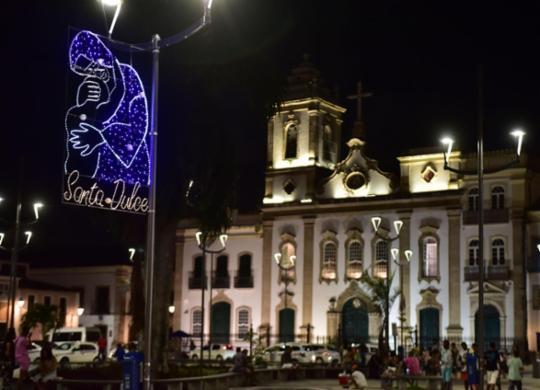 Capital baiana recebe iluminação temática especial de Irmã Dulce | Max Haack | Secom