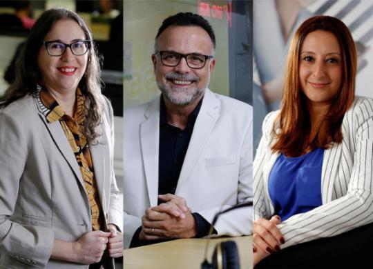 Equipe de comando das mídias alia compromisso e talento | Raul Spinassé | Ag. A TARDE