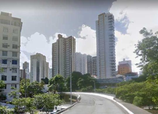 Viaduto da Gabriela é interditado para obras de recuperação estrutural   Reprodução   Google Street View