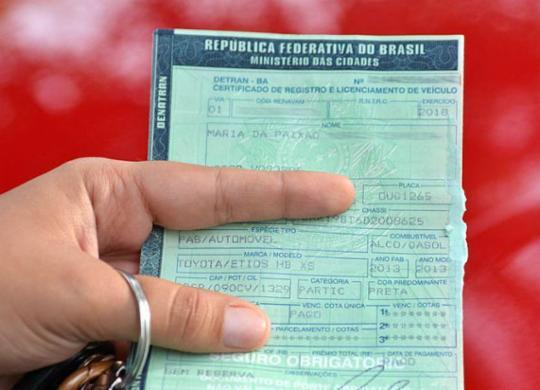 Duzentos e oito mil veículos são notificados por atraso de pagamento do IPVA | Shirley Stolze | Ag A Tarde