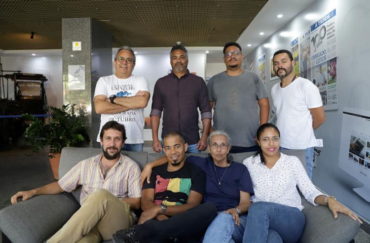 Grupo A TARDE conta com um núcleo especializado voltado somente para a fotografia - Foto: Raul Aguilar   Ag. A TARDE
