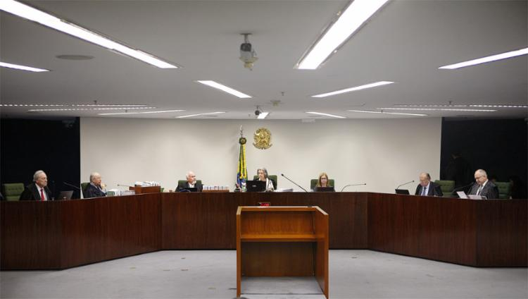 Sessão da 2ª Turma no Supremo Tribunal Federal (Foto: Rosinei Coutinho l STF l 1.10.2019)
