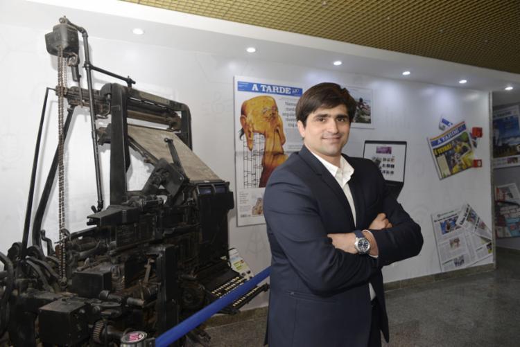 Presidente do Grupo A TARDE, João de Mello Leitão, aposta na essência de vanguarda da empresa