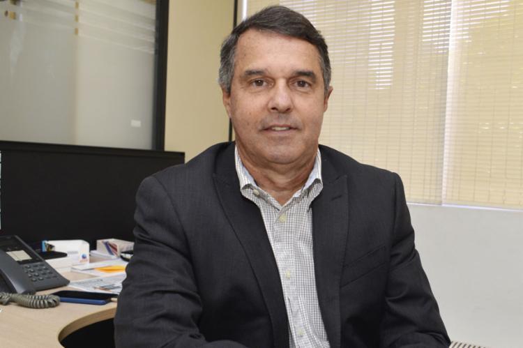 """Hélio Tourinho, dir. comercial: """"Expectativa de crescimento é de algo em torno de 7% este ano, em relação a 2018"""""""