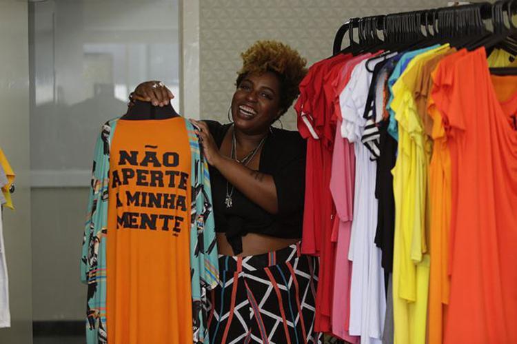 Najara, da N'Black, anuncia que vai diversificar produtos (Foto: Joá Souza | Ag. A TARDE)