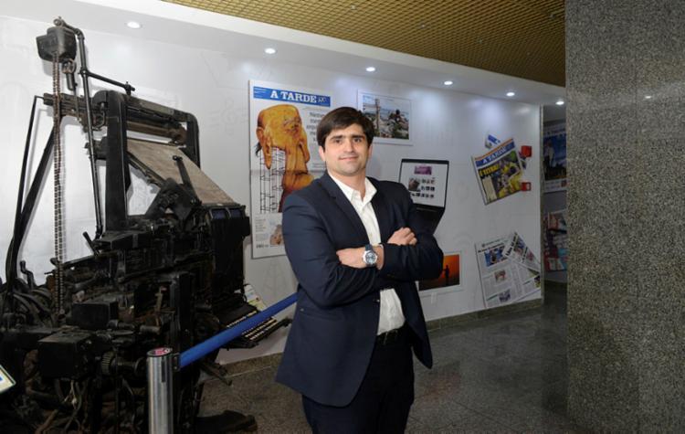 João Mello Leitão, presidente do Grupo A TARDE (Foto: Shirley Stolze | Ag. A TARDE) - Foto: Shirley Stolze | Ag. A TARDE