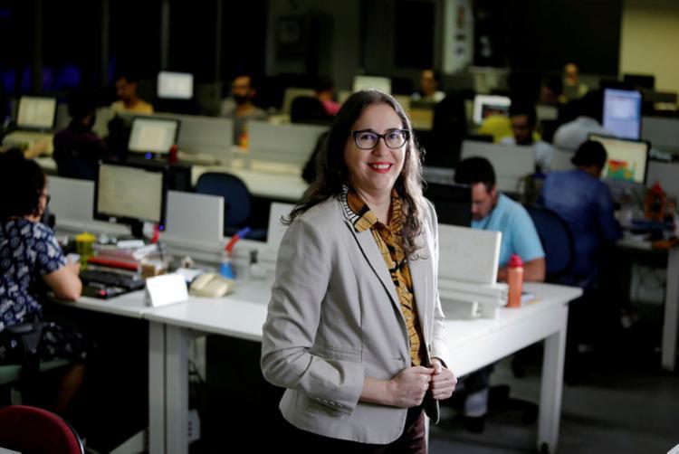 Mariana Carneiro, diretora do Jornal A TARDE (Foto: Raul Spinasssé | Ag. A TARDE)