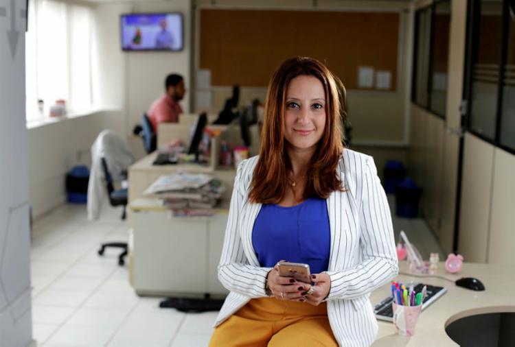 Caroline Gois, diretora do Portal A TARDE (Foto: Raul Spinasssé | Ag. A TARDE)