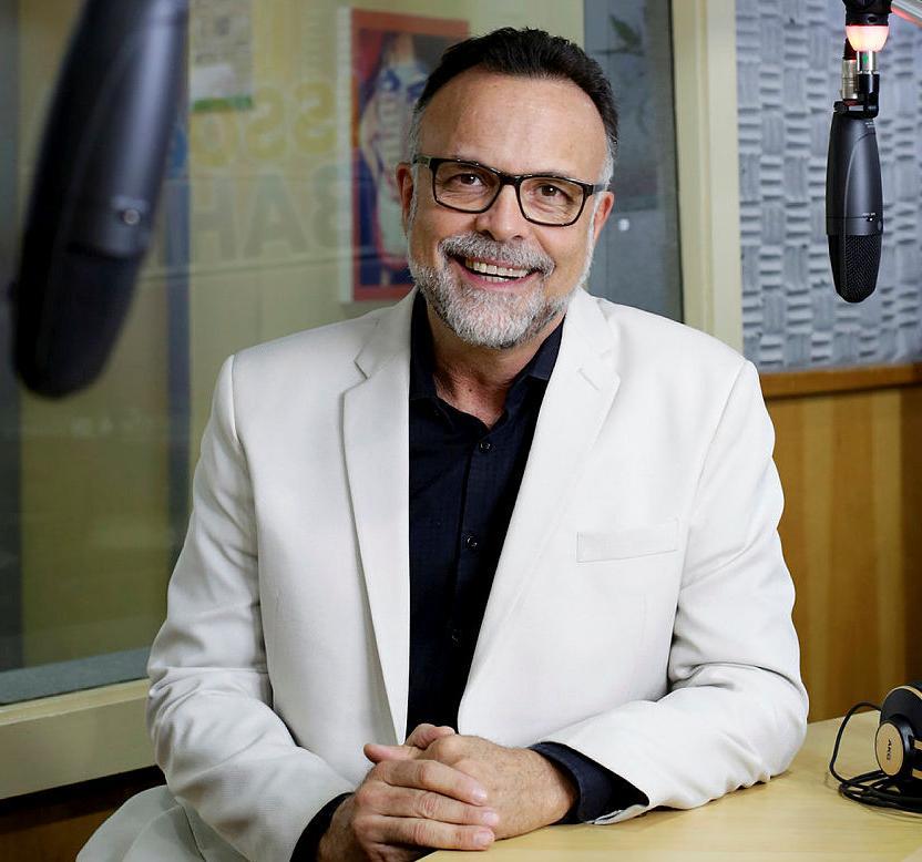 Jefferson Beltrão, diretor da Rádio A TARDE FM (Foto: Raul Spinasssé | Ag. A TARDE)