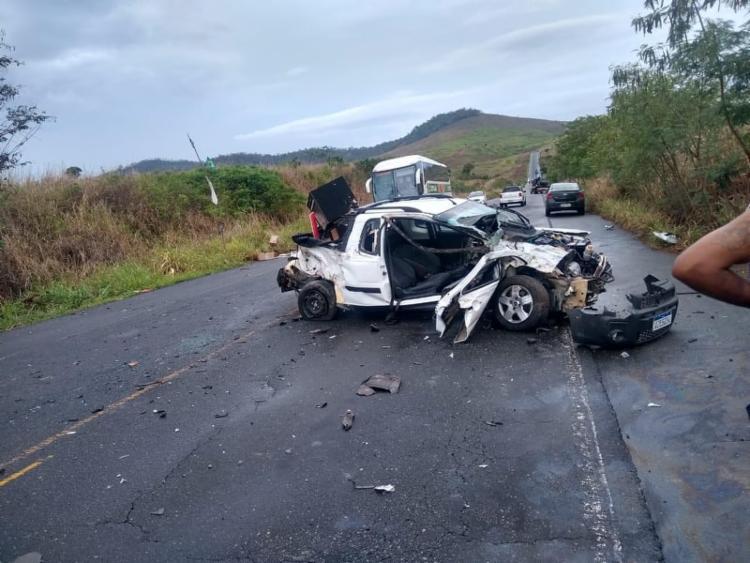 A colisão aconteceu em trecho que liga as cidades de Itapetinga e Itambé - Foto: Reprodção | Itororó Já