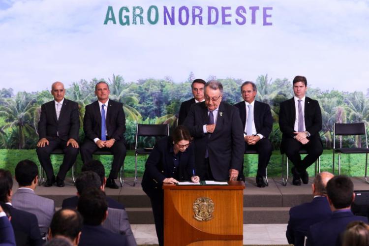 Governo lança AgroNordeste voltado para pequenos e médios produtores - Foto: Valter Campanato l Agência Brasil