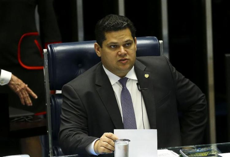 Alcolumbre reviu previsão inicial de votar até o dia 10 de outubro - Foto: Marcelo Camargo l Agência Brasil