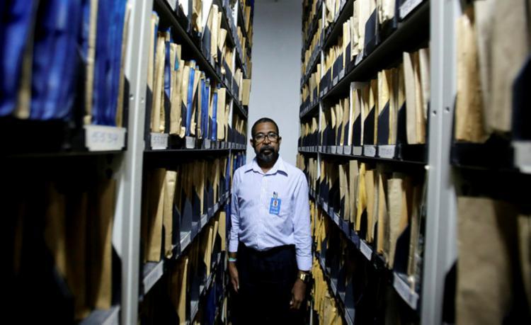 No Centro de Documentação, Waldir adquiriu experiência para vida toda