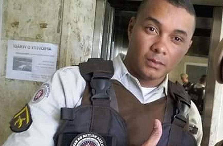 Conforme a SSP, Anselmo Souza dos Prazeres é ligado à Aspra e participava de ação com outros PMs - Foto: Divulgação l SSP-BA