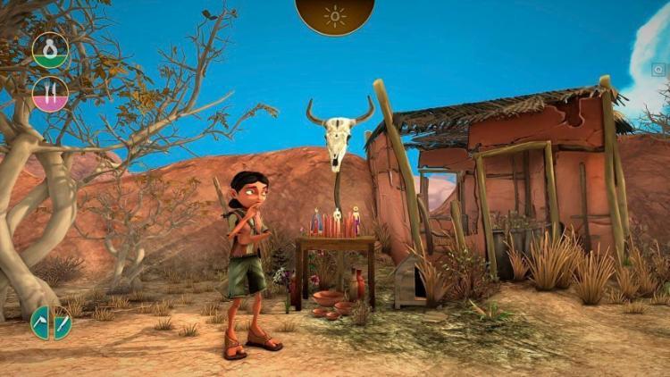 Cícera é a protagonista do jogo concebido pela produtora Aoca Game Lab - Foto: Divulgação