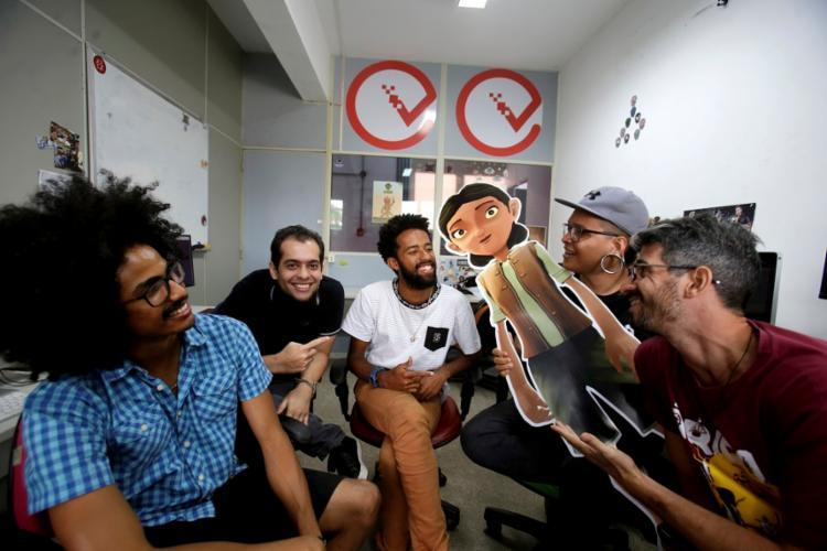 Vinícius Santos, Tharcísio Vaz, Gildevan Dias, Filipe Pereira e Victor Cardozo estão trabalhando na sequência de Árida