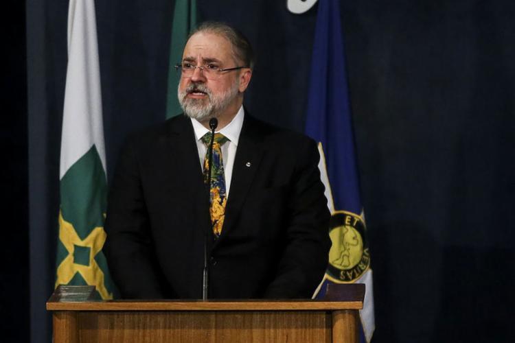 Procurador-geral tomou posse nesta quarta-feira, em Brasília - Foto: Antonio Cruz l Agência Brasil