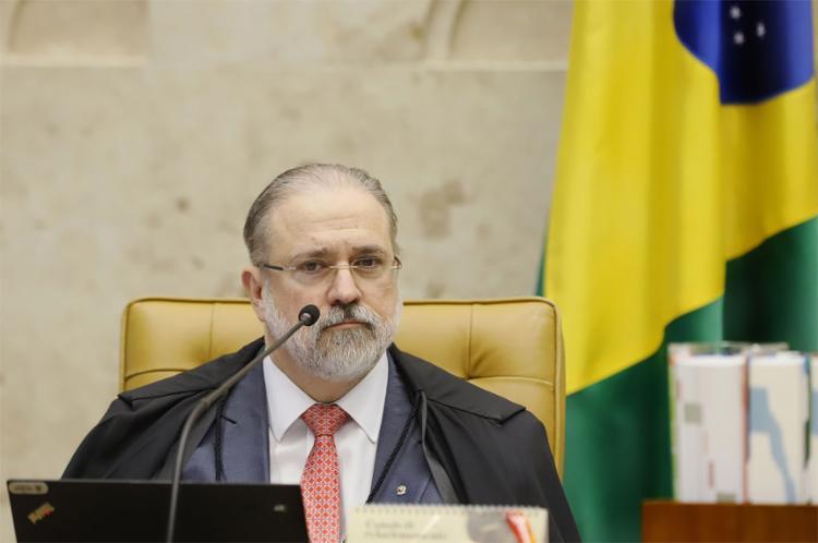 Em curta declaração na sessão que marcou a sua estreia no STF, procurador-geral respondeu ao ministro Celso de Mello - Foto: Rosinei Coutinho l STF l 3.10.2019