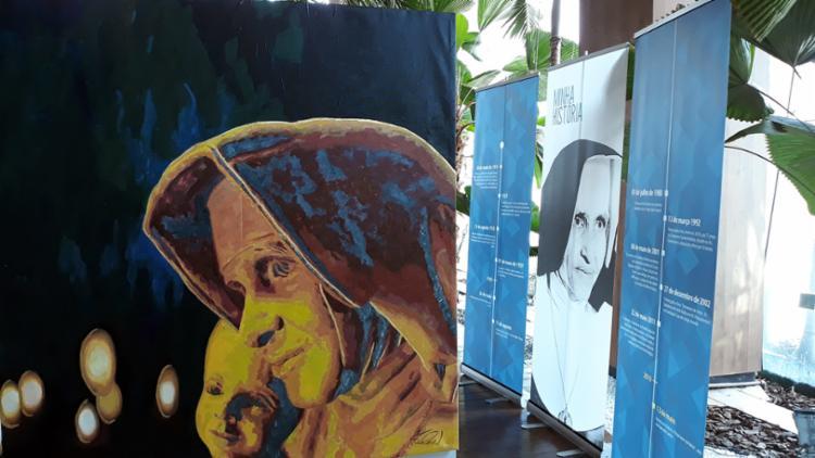 Obras apresentadas na Itália estão em exibição no Salvador Shopping - Foto: Divulgação