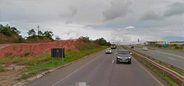 Condutores deverão fazer o desvio pela BA-524 - Foto: Reprodução   Google Maps