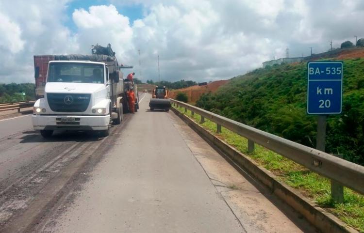 O cronograma, que teve início nesta segunda-feira, 7, segue em execução com manutenções preventivas e corretivas em vários trechos - Foto: Divulgação | Concessionária Bahia Norte
