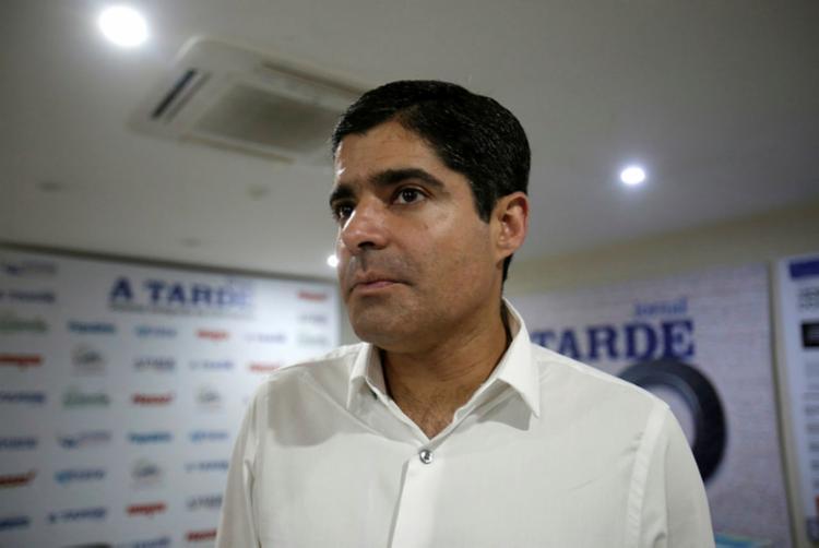O prefeito de Salvador, ACM Neto celebrou o aniversário do Grupo A TARDE - Foto: Adilton Venegeroles | Ag. A TARDE
