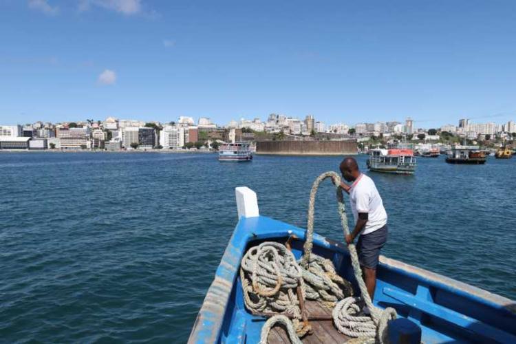 Segundo estudo, Baía de Todos-os-Santos tem aumento de temperatura e queda de umidade - Foto: Uendel Galter | Ag. A TARDE