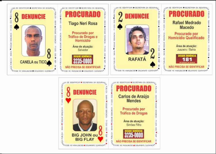 Suspeitos teriam cometido crimes na capital e no interior da Bahia - Foto: Divulgação | SSP