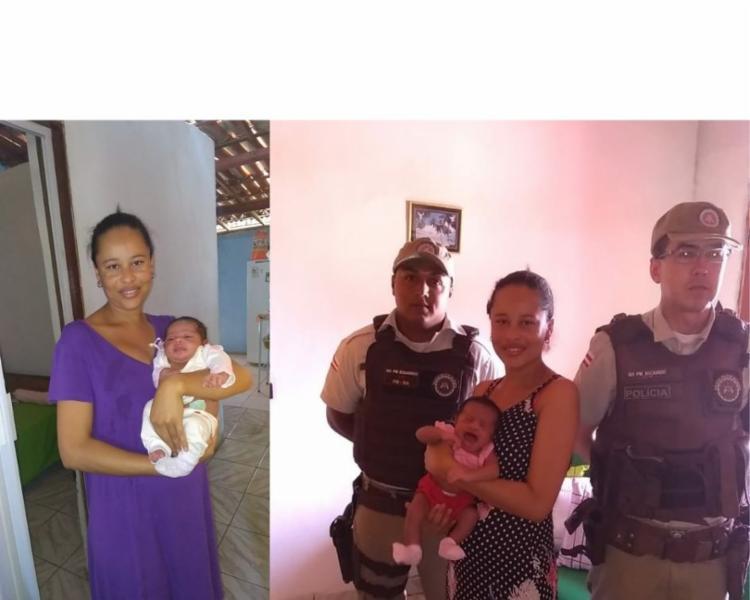 Alice foi encaminhada para o hospital municipal e já foi liberada. - Foto: Divulgação | SSP/BA