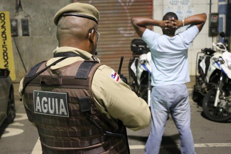 Ação foi comandada pelo Esquadrão Águia da Polícia Militar - Foto: Divulgação | SSP