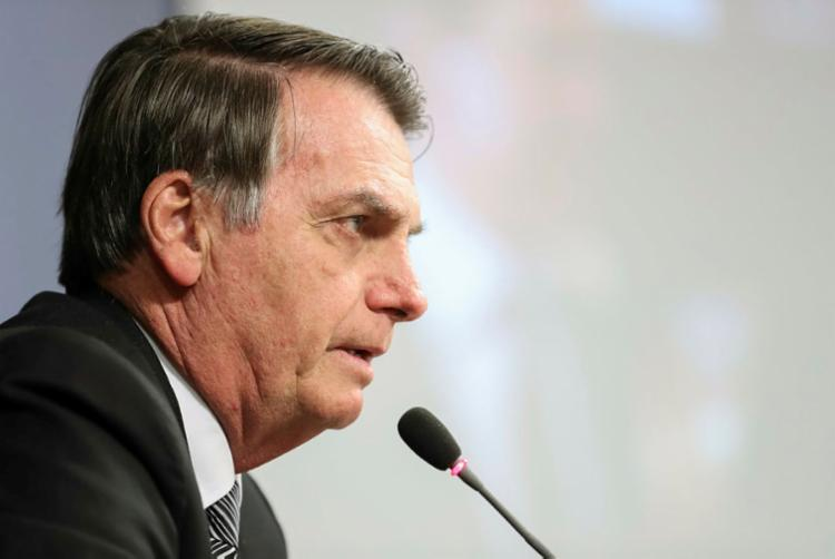 Conflito entre o presidente e a cúpula do PSL foi escancarado na terça-feira, 8, - Foto: Marcos Corrêa | PR