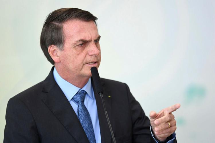 Saída do presidente, porém, já é dada como certa pela cúpula do PSL - Foto: Evaristo Sá | AFP