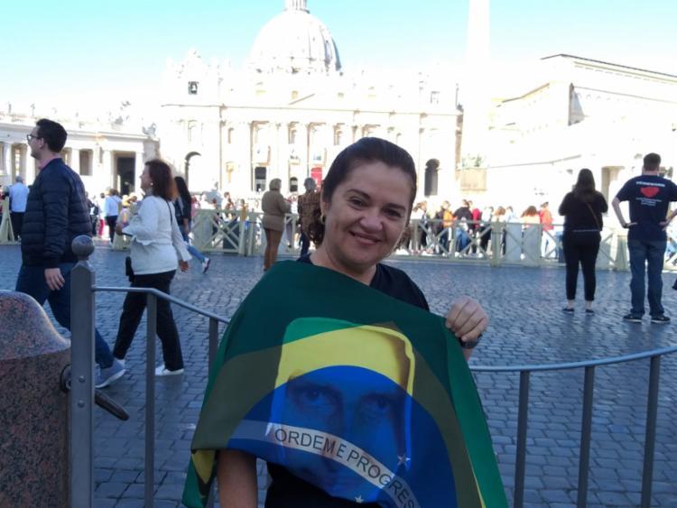 Marília Sentges, chefe de hemoterapia da Osid, é uma das brasileiras em Roma - Foto: Cleidiana Ramos | Ag. A TARDE