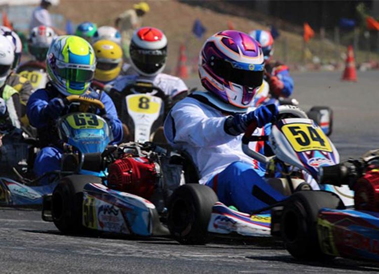 Com seis etapas, Baiano de Kart tem disputa por títulos acirrada - Foto: Gabriela Simões | Divulgação